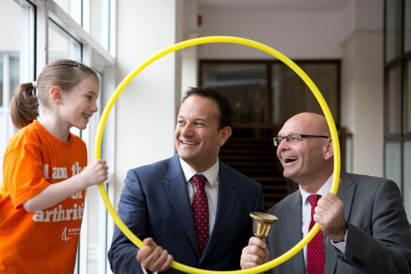 Arthritis Ireland goes Back To The School Yard with Minister for Health Leo Varadkar – Image 2